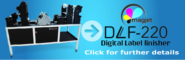 DLF-220 Everything you need to professionally cut and finish short run labels from your digital colour label printer